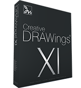 DRAWings 5 Embroidery software box