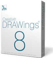 Creative DRAWings 8 Embroidery Software has been released