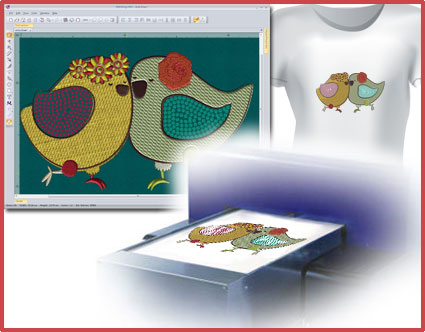 Digital garment printing 3