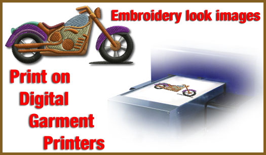 Used embroidery machines, screen printing equipment, digitizing