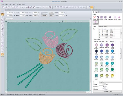 Drawings Embroidery Software