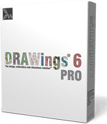 DRAWings 6 Embroidery software box