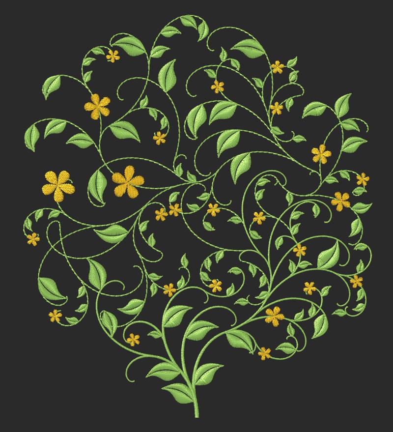 Automatic floral design creation